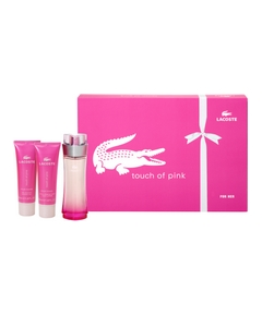 Lacoste – Coffret Touch of Pink Noël 2011