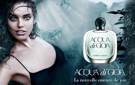 Armani - Acqua di Gioia - La nouvelle essence de joie