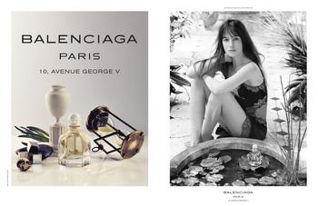 Balenciaga - Paris 10, avenue Georges V - Charlotte Gainsbourg