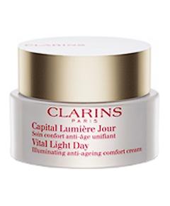 Clarins - Capital Lumière Jour Soin Confort Anti-âge Unifiant