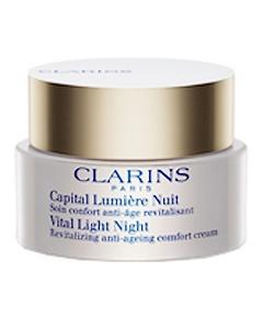 Clarins - Capital Lumière Nuit Soin Confort Anti-âge Revitalisant