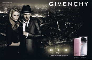 Givenchy - Play For Her Eau de Parfum - La Pub - Justin Timberlake