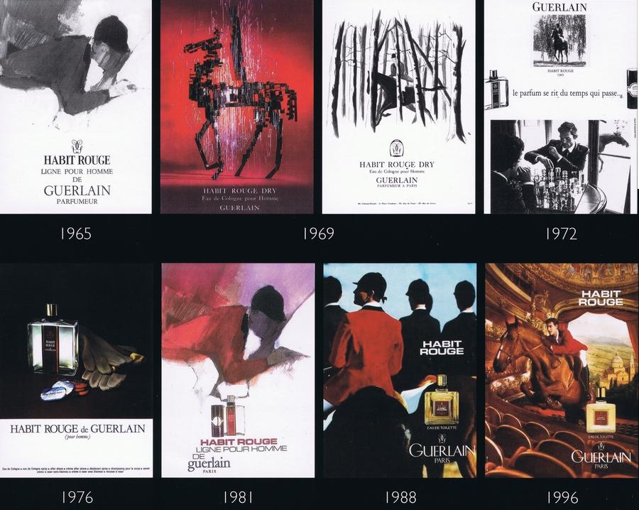 Guerlain - La SAGA Habit Rouge - 45 ans de pub