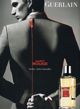 Guerlain – Habit Rouge Genre : (très) masculin.