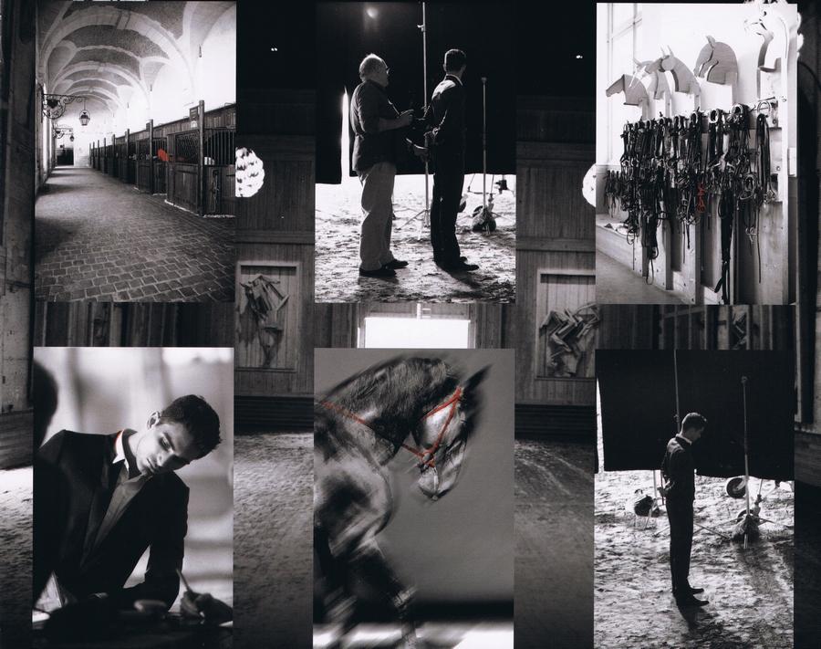 Guerlain - Habit Rouge - Les coulisses du nouveau visuel 2010