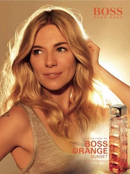 Hugo Boss - Boss Orange Sunset Eau de Toilette - La Pub avec Sienna Miller