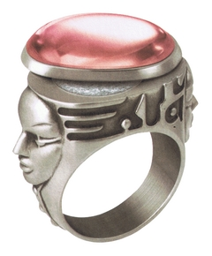 Thierry Mugler - Womanity sa Bague en Zamak Argenté 2010