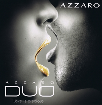 "Azzaro - Azzaro Duo Men et Women Eau de Toilette - Pub ""Love is Precious"""