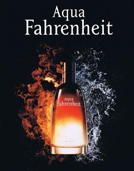 Aqua Fahrenheit de Dior - La rencontre de l'eau et du feu