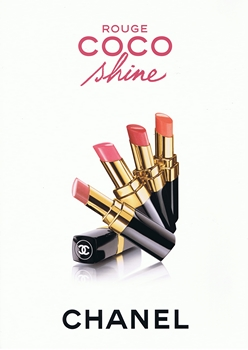 Chanel - Rouge Coco Shine - Pub