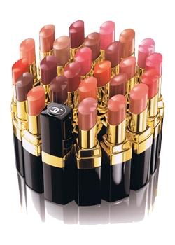 Chanel - Rouge Coco Shine - Les Teintes