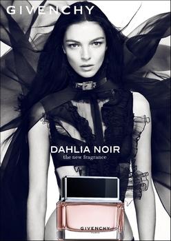 Givenchy - Dalhia Noir - Pub avec Maria Carla Boscono