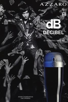 Julian CASABLANCAS - Azzaro dB DECIBEL - Pub