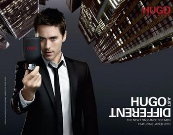 Hugo Just Different - Pub avec Jared LETO