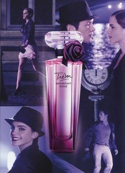 Lancôme - Trésor Midnight Rose - Pub avec Emma Watson