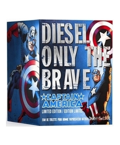 Diesel - Only The Brave Captain America 2011 - Etui