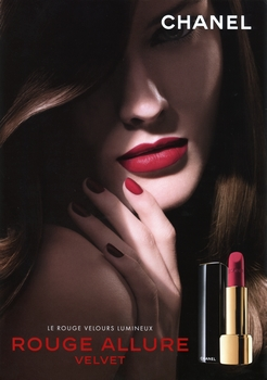 Chanel - Rouge Allure Velvet - Pub