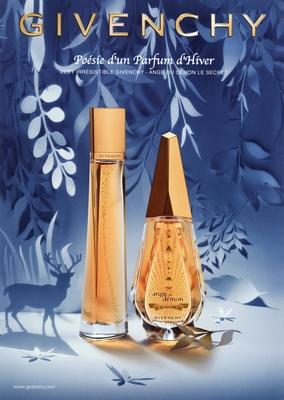 Givenchy - Ange ou Démon le Secret Poésie d'un Parfum d'Hiver 2011 - Pub