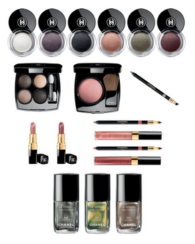 Chanel - Illusion d'Ombres - Look Automne 2011