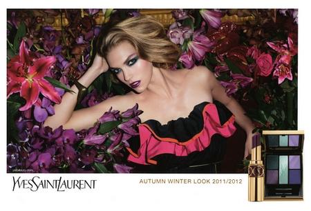 Yves Saint Laurent - Look Automne Hiver 2011-2012 - Jardin de Minuit