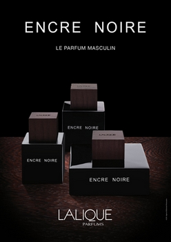 Lalique - Encre Noire - Publicité