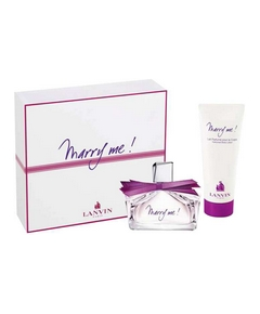Lanvin – Coffret Marry Me Noël 2011