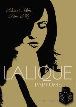 Lalique - Encre Noire Pour Elle - Pub