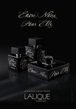 Lalique - Encre Noire Pour Elle - Publicité