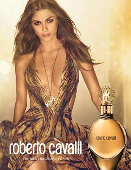 Elisa SEDNAOUI - Parfum Roberto Cavalli