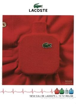 Lacoste - Eau de Lacoste L.12.12 Rouge - Pub