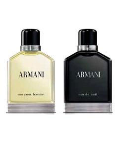 Armani - Eau pour Homme et Eau de Nuit