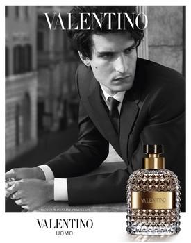 Parfum Uomo Valentino - Pub avec Louis Garrel