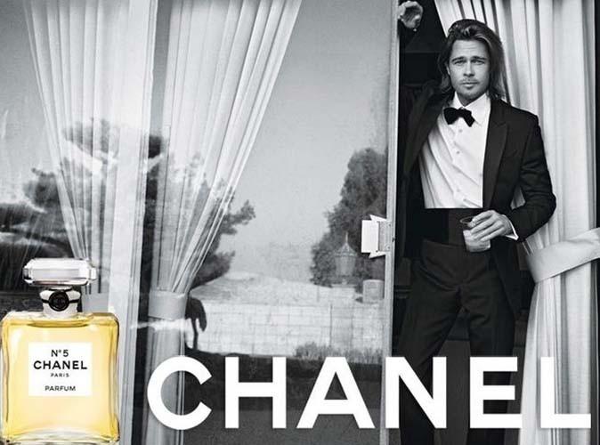 Brad Pitt - Chanel N°5