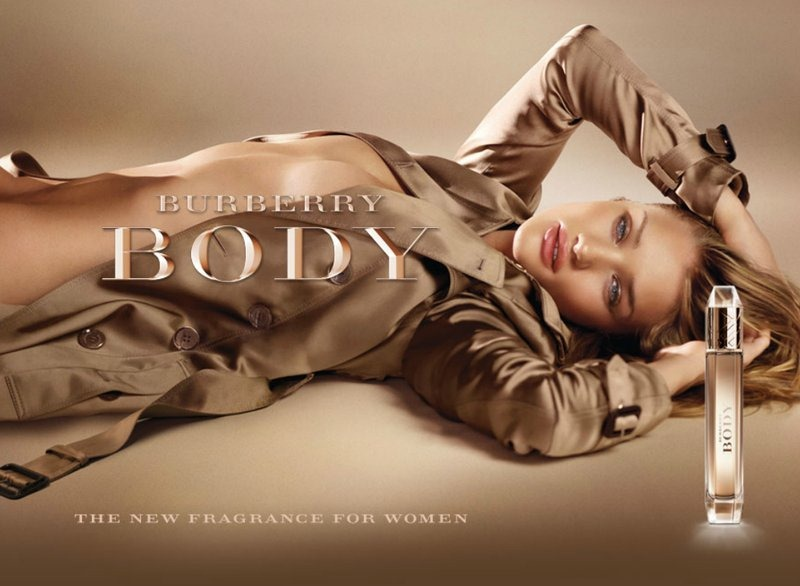 Rosie Huntington Whiteley - Body Burberry