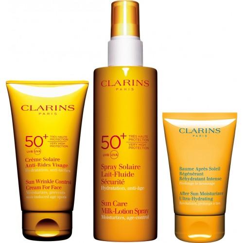 Clarins- Coffret Proctection Solaire Forte