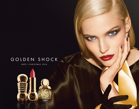 Dior – Look Noël 2014 Golden Shock