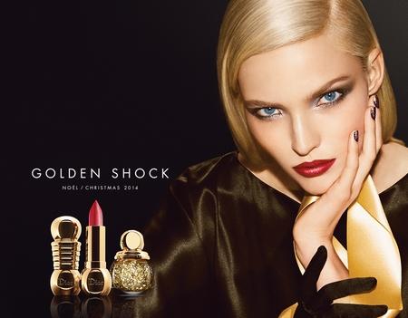 Dior - Look Noël 2014 Golden Shock