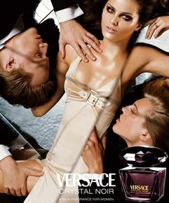 Pub Versace Crystal Noir
