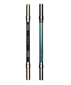 Crayons Waterproof 01 Intense Black & 05 Aquatic Green Clarins