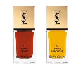 La Laque Couture d'Yves Saint Laurent N°61 & 62