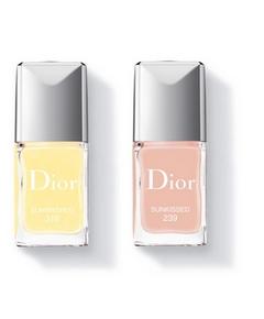 Rouge Vernis Dior 319 et 239 Look Tie & Dye