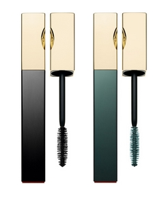 Truly Mascara Waterproof 01 Intense Black & 03 Aquatic Green de Clarins