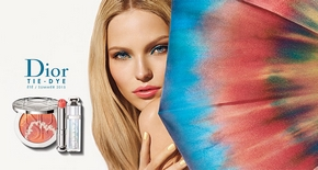 Visuel Tie & Dye Look Make Up Summer 2015 - Dior