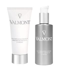 Valmont Mousse Nettoyante Lumière & Lotion Unifiante Lumière
