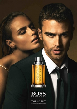 Hugo Boss - The Scent Pub avce Theo James