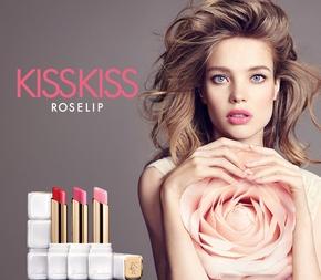 Guerlain Publicité KissKiss Roselip