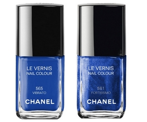Vernis à Ongles Chanel N°665 Vibrato, N°681 Fortissimo