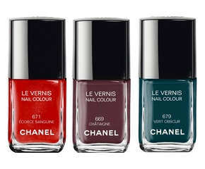 Le Vernis Chanel N°671, N°669, N°679 Collection Les Automnales 2015