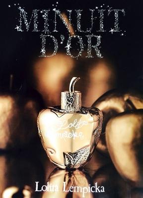 Pub parfum Minuit d'Or Lolita Lempicka
