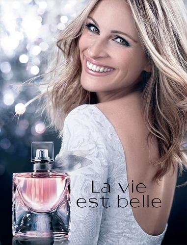 La Vie est Belle de Lancôme, un parfum conçu pour voir la vie en rose